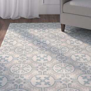 Birchover Blue Indoor/Outdoor Area Rug