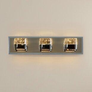 Orren Ellis Pollux 3-Light Bath Bar