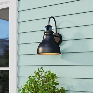 Lavardin Dualux Led Outdoor Barn Light With Motion Sensor