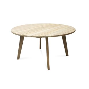 Myers  Solid Wood Dining Table by Bloomsb..