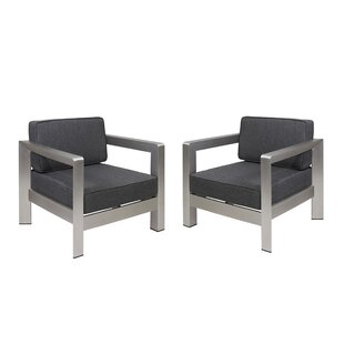 Orren Ellis Banning Patio Chair with Cush..