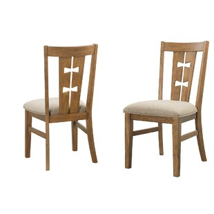 Terwilliger Solid Wood Dining Chair (Set of 2) Union Rustic