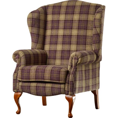 Anzilotti Wingback Chair Three Posts Upholstery Colour: