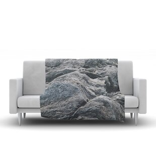 Best Price Will Wild Stone Landscape Nature Fleece Blanket By East Urban Home