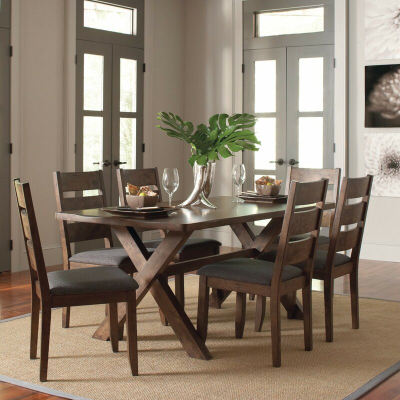 Ventura 7 Piece Dark Brown Dining Set. 7 Piece Kitchen   Dining Room Sets You ll Love   Wayfair