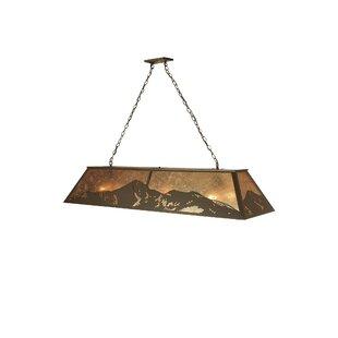 Meyda Tiffany Mountain Range 9-Light Pendant