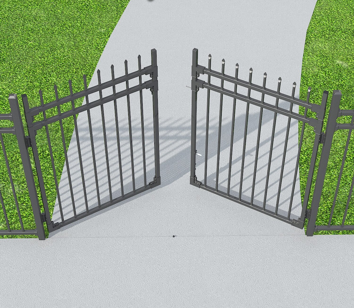 Fence Panels Border Fencing Metal Fencing You Ll Love In 2021 Wayfair