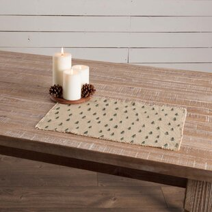 Altha Vintage Burlap Tree Placemat (Set of 6)
