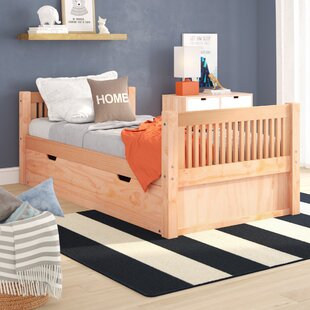 Isabelle Twin Platform Bed with Trundle by Viv  Rae