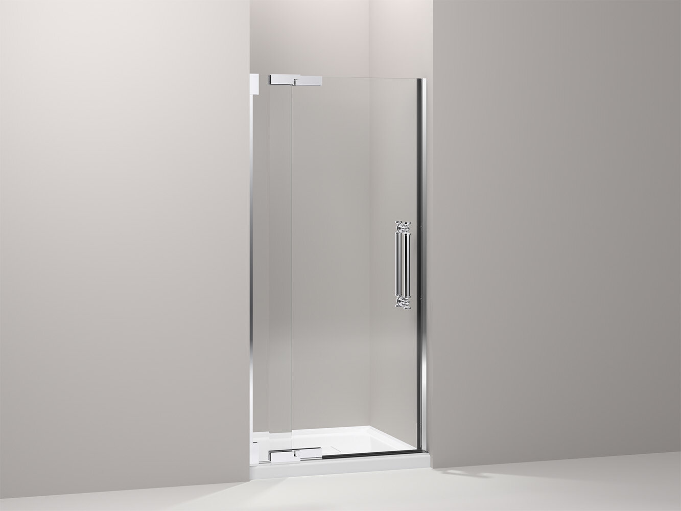 Pinstripe 35 75 X 72 25 Pivot Shower Door