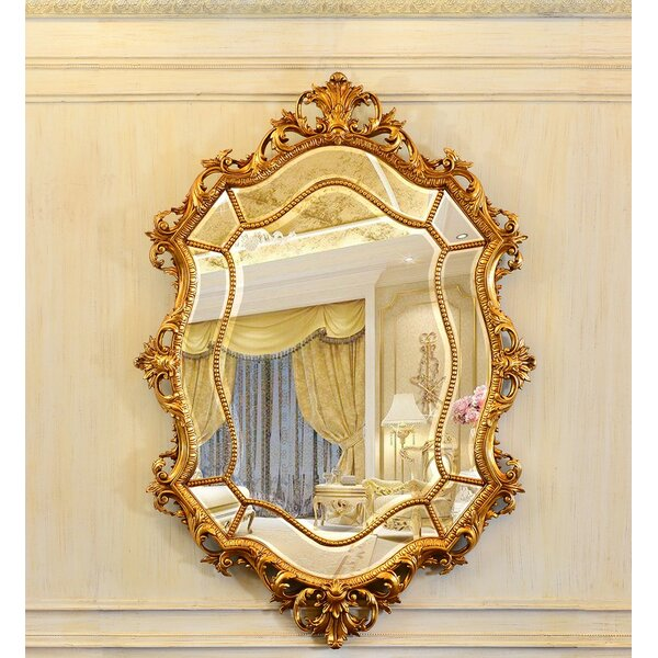 Rosdorf Park Rosia Ornate Glam Venetian Full Length Mirror Wayfair