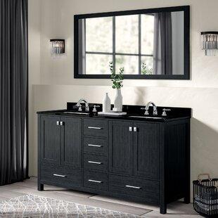 Hamden 71 Double Bathroom Vanity Set with Mirror By Greyleigh