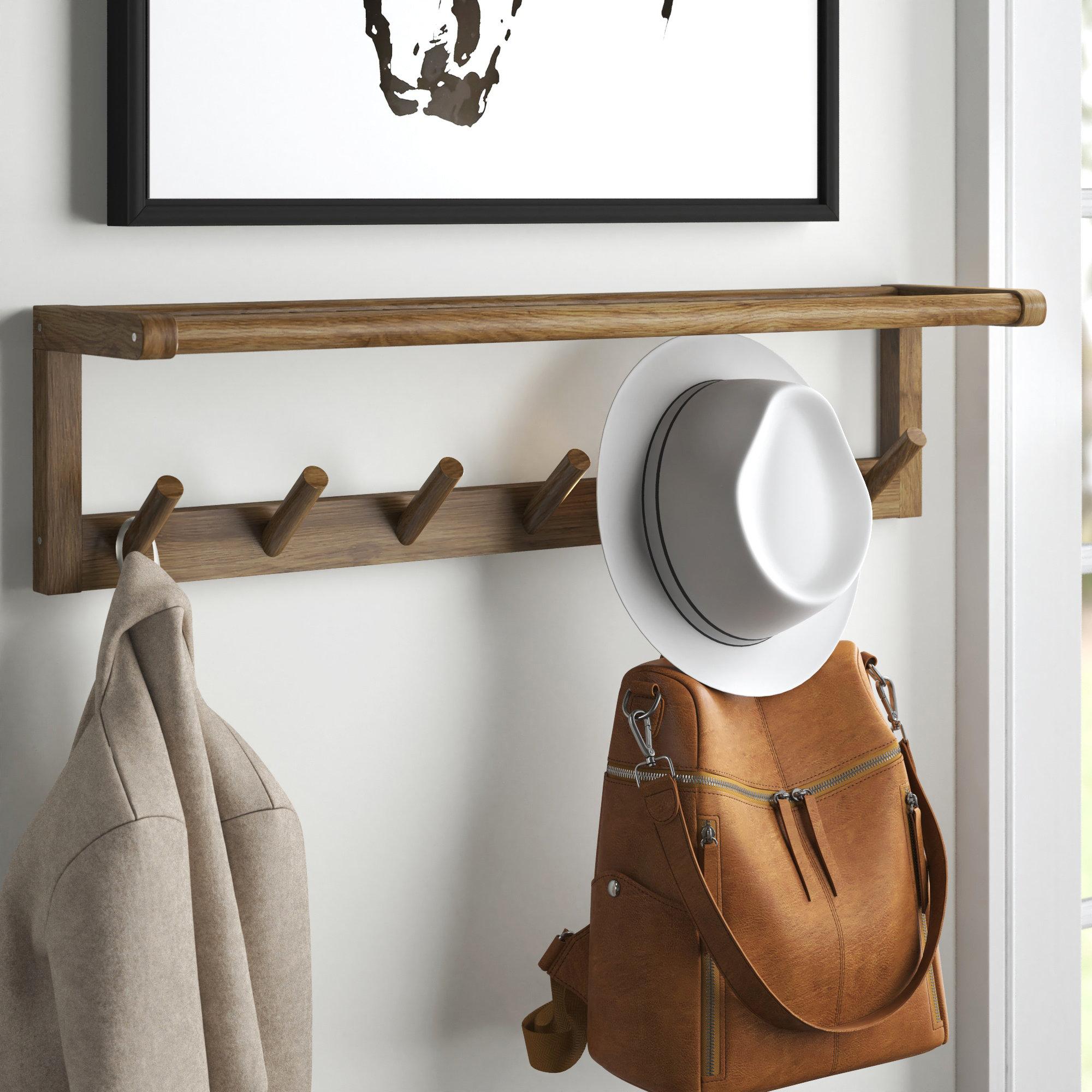 """Cast Iron Butterfly Wall Mount 4 Hook Coat Hat Key Towel Hook Hanger 11/"""" x 6/"""""""