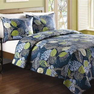 Denning Tropical Leaves Quilt
