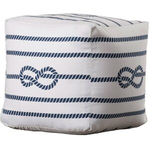 Kingsley Pouf Ottoman by Beachcrest Home