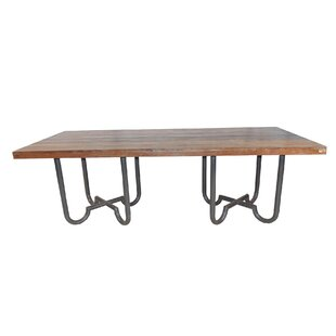 Hornsea Solid Wood Dining Table Williston Forge