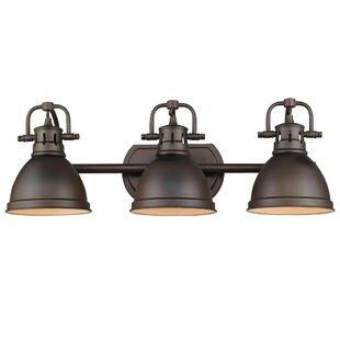Morgane 3-Light Vanity Light By Beachcrest Home