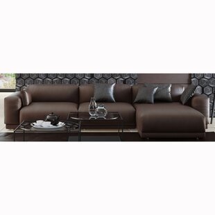 Alisson Leather Sectional