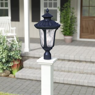 Best Gunnell Outdoor 1-Light Lantern Head By Three Posts