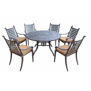 Darby Home Co Arness 10 Piece Dining Set and Lounge Set