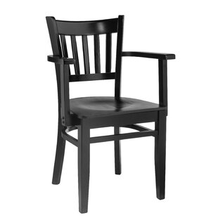 Smethwick Vertical Solid Wood Dining Chai..