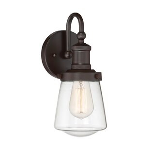 Ensley 1 Light Armed Sconce by Andover Mills