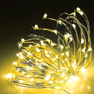 Dimmable 98 ft. 300-Light Fairy String Lights