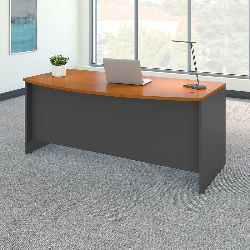 Series C Bow Front Desk Shell