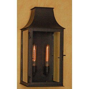 Arguelles 2-Light Outdoor Wall Lantern