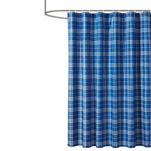 Sosebee Plaid 13 Piece Shower Curtain Set (Set of 13)