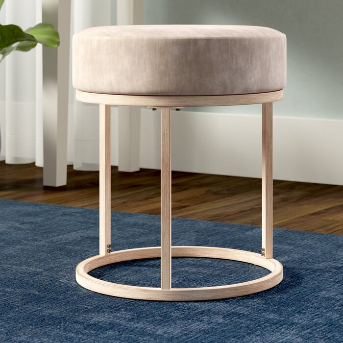 Phenomenal Mcevoy Vanity Stool Dailytribune Chair Design For Home Dailytribuneorg