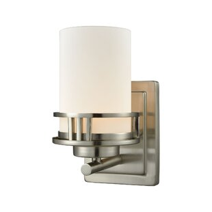 Jailyn 1-Light Bath Sconce by Charlton Home