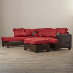 Sartain Reversible Sectional with Ottoman