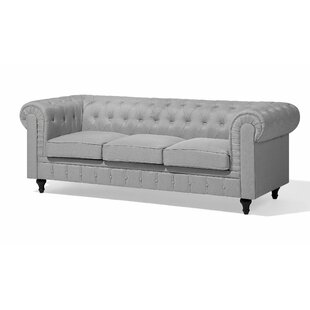 Chappell 3 Seater Chesterfield Sofa by Alcott Hill Cool