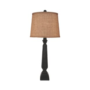 Winchester Ribbed Candlestick 31 Table Lamp