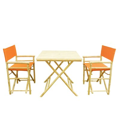 Buyers Choice Phat Tommy 3 Piece Bistro Set   Color: Tuscan