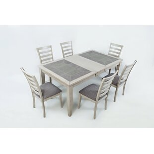 Leigh 7 Piece Dining Set Red Barrel Studio