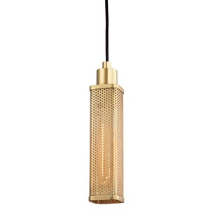 Oxon Hill 1-Light Square/Rectangle Pendant by Brayden Studio