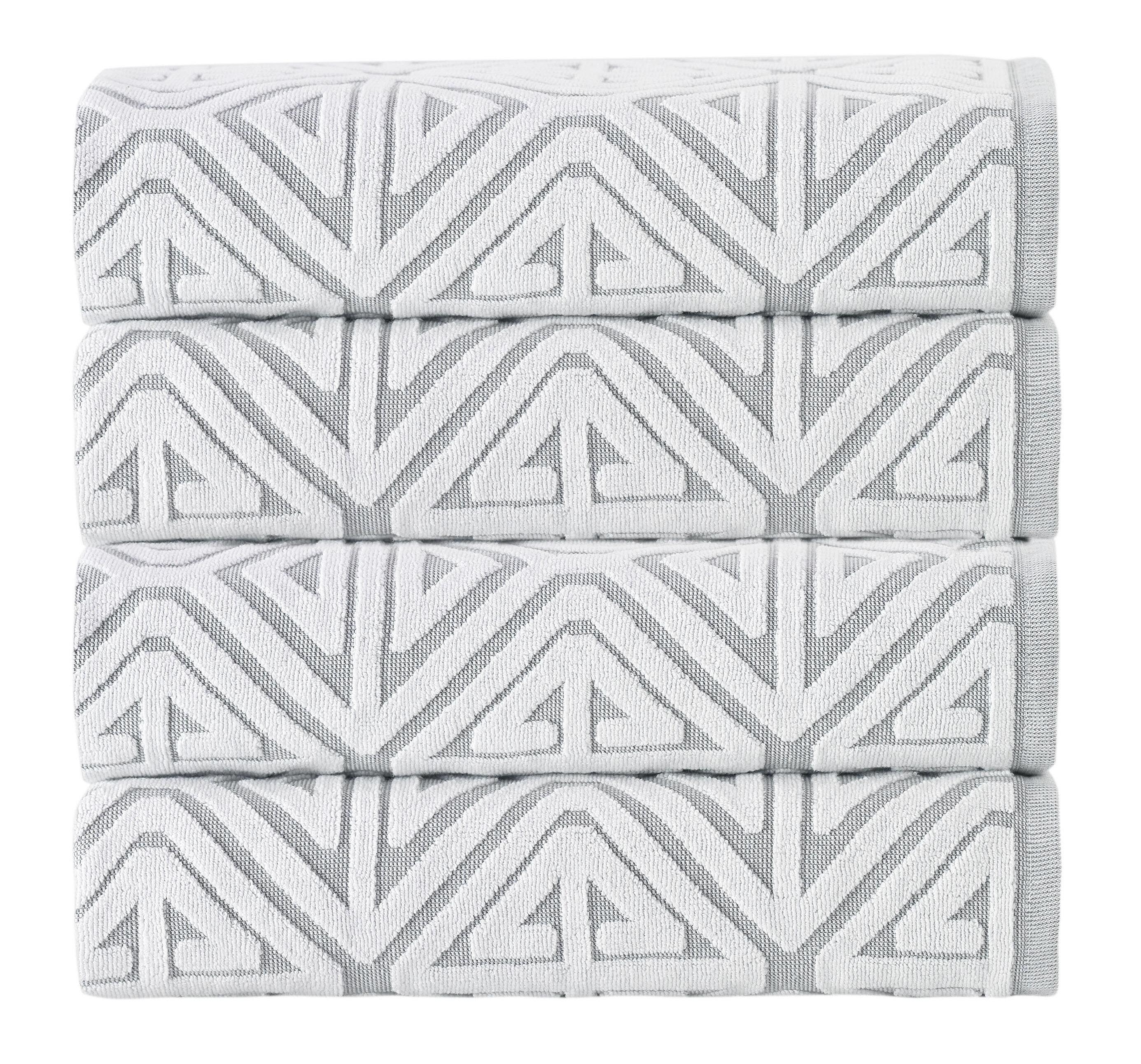 Lyndia 4 Piece 100 Cotton Bath Towel Set Reviews Allmodern