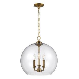 Darby Home Co Chilcott 3-Light Globe Pendant