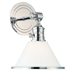 Price Check Champine Armed Sconce By Darby Home Co