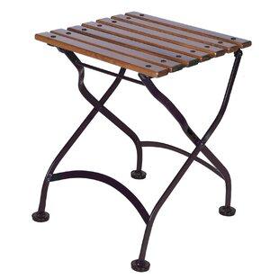 Furniture Designhouse European Café Folding Teak Coffee Table