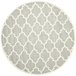Gilles Hand-Tufted Grey Area Rug by Lily Manor