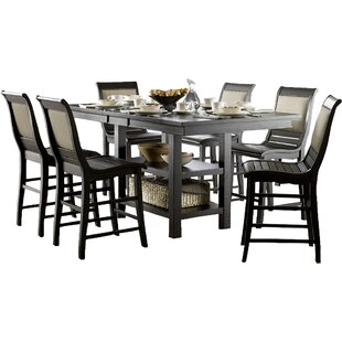 Castagnier Extendable Dining Table Lark Manor