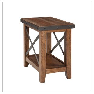 Best Review Baulch End Table By Gracie Oaks