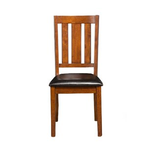 Millwood Pines Wilkin Solid Wood Dining Chair (Set of 2)
