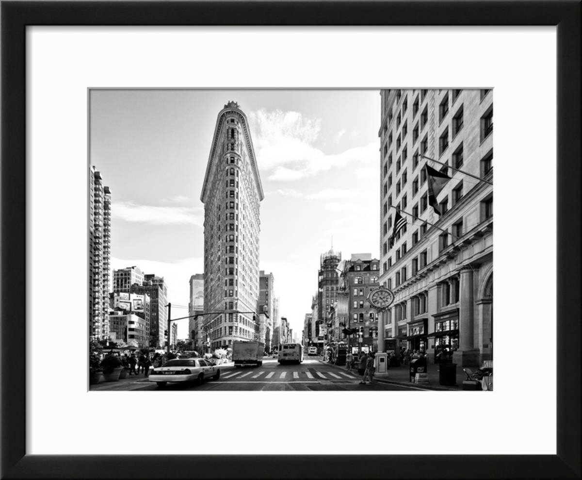 Williston Forge \'Landscape of Flatiron Building and 5th Ave ...