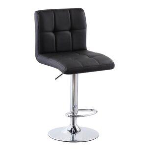 Matheson Height Adjustable Swivel Bar Stool By Ebern Designs