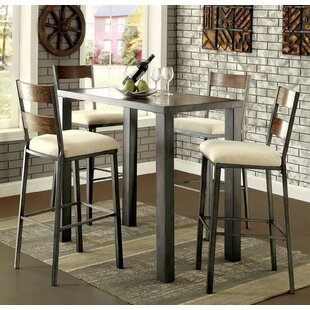 Balceta 5 Piece Pub Table Set