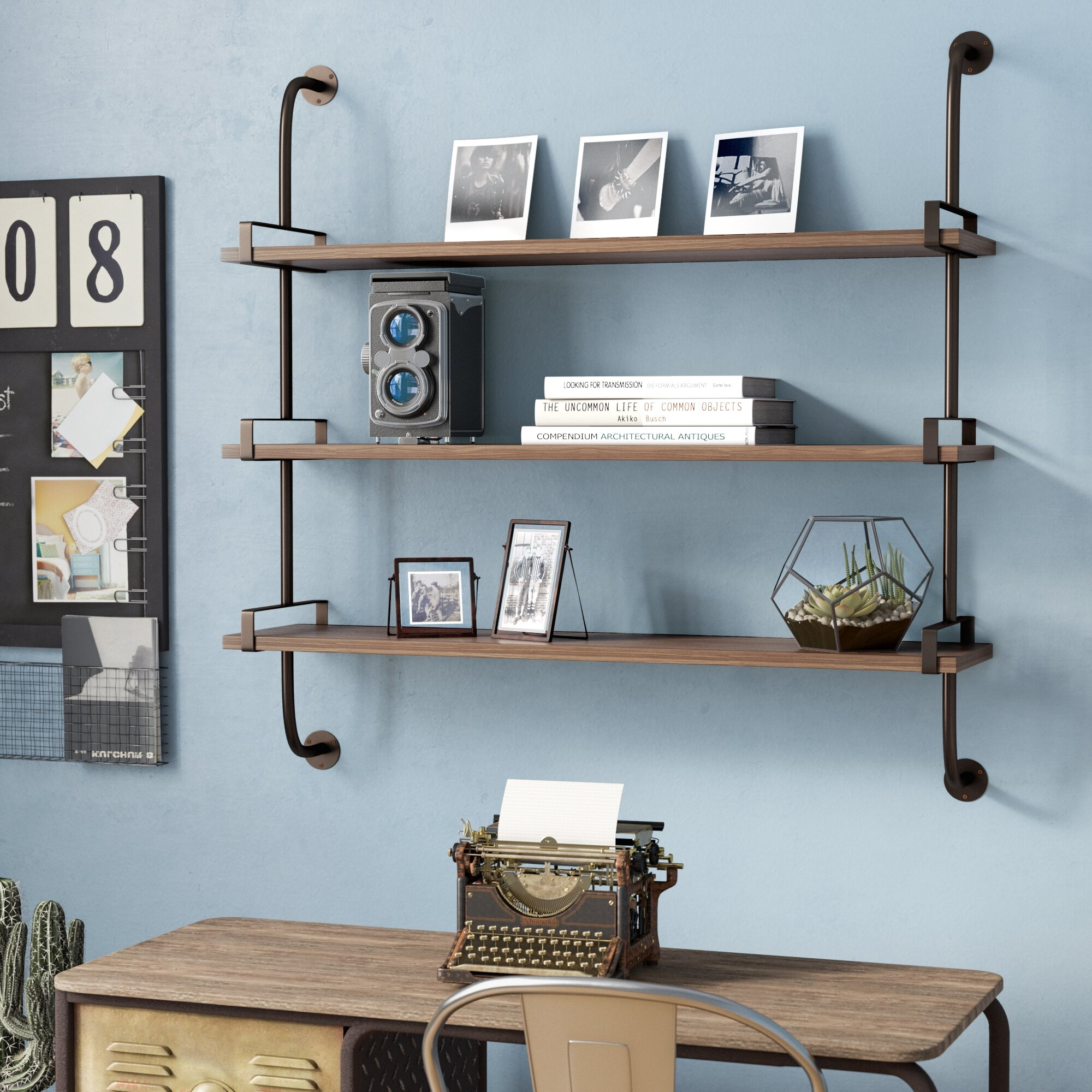 Trent Austin Design Fountain Valley Wood Wall Shelf U0026 Reviews | Wayfair